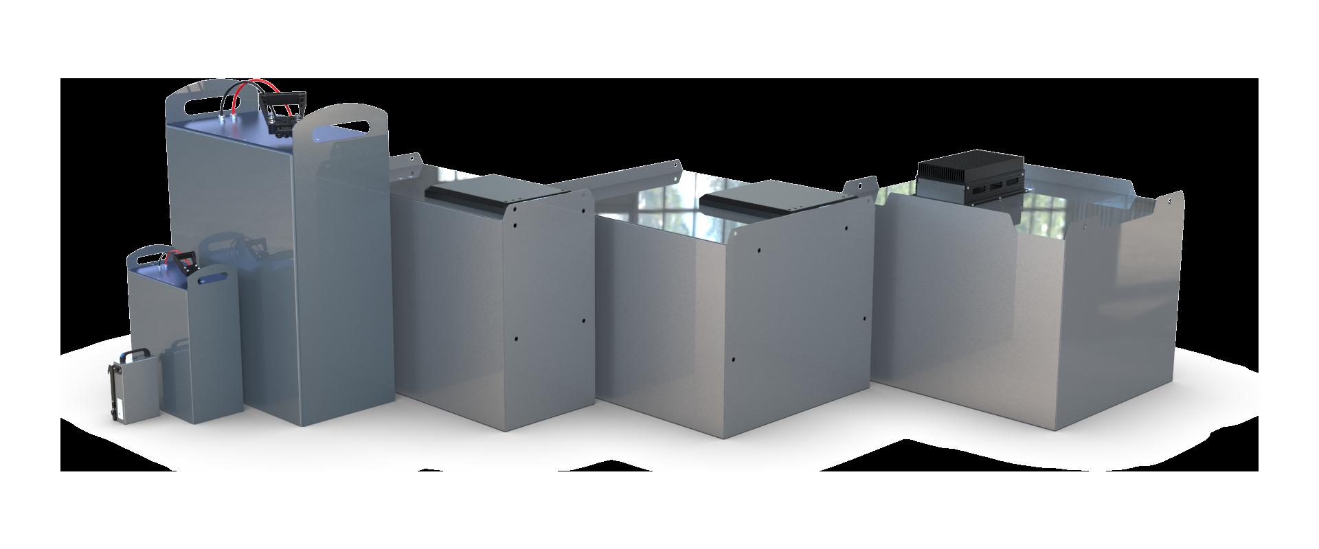 Gama de batería industrial de Alterity