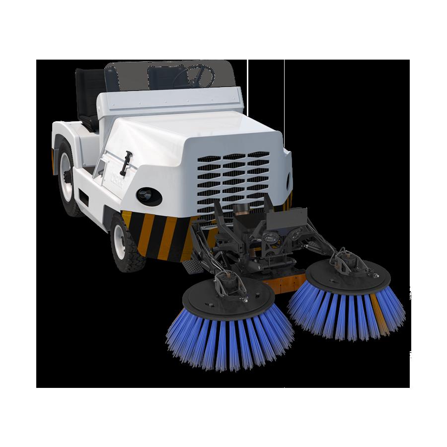 Baterías de litio para equipos de limpieza