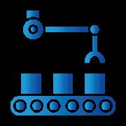Icono fabricación de baterías de litio