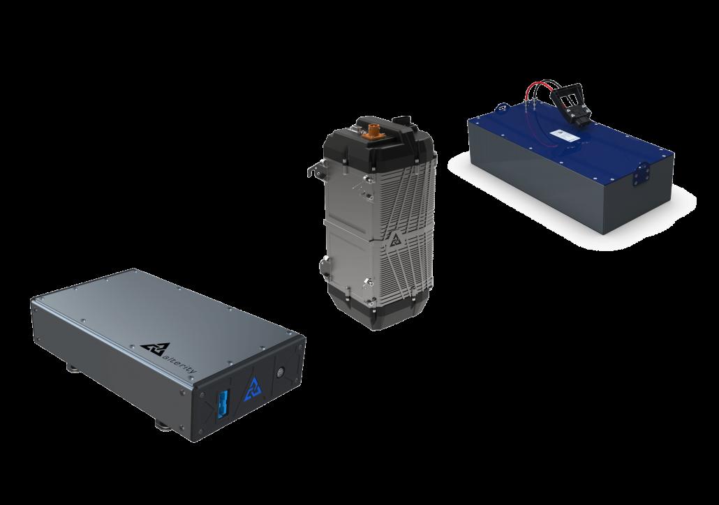 Gama baterías de tracción de litio para vehículos